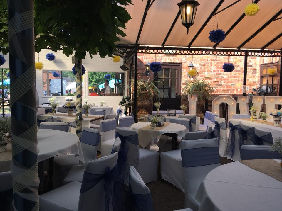 christening reception venues in derby