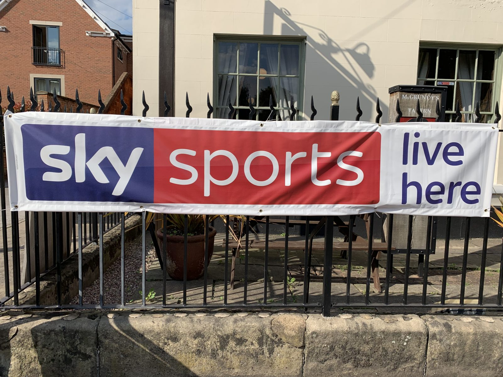 hotels, pubs and bars with sky sports in derby